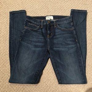 Current/Elliott High Waist Skinny Townie Jeans